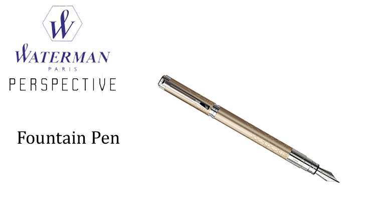 PERSPECTIVE CHAMPAGNE Fountain Pen