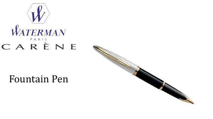 CARENE DE LUXE BLACK Fountain Pen