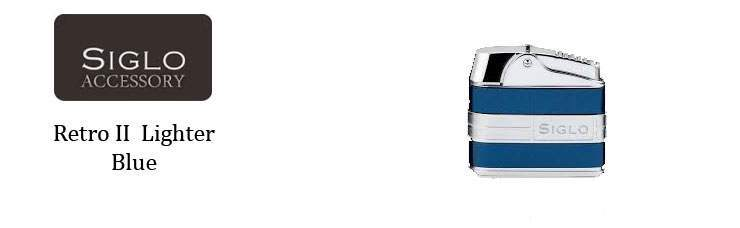 SIGLO Lighter Retro II Blue